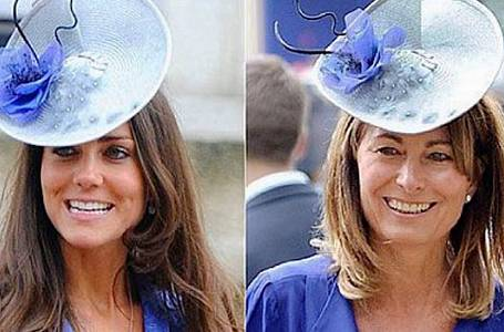 Kate má stejný vkus jako její matka