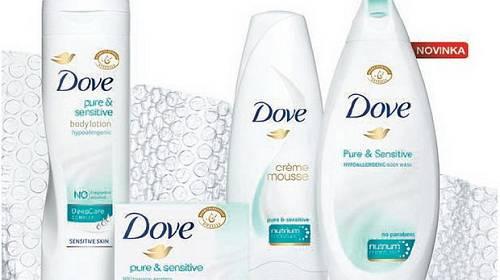 Nejjemnější Dove – novinka pro citlivou pokožku
