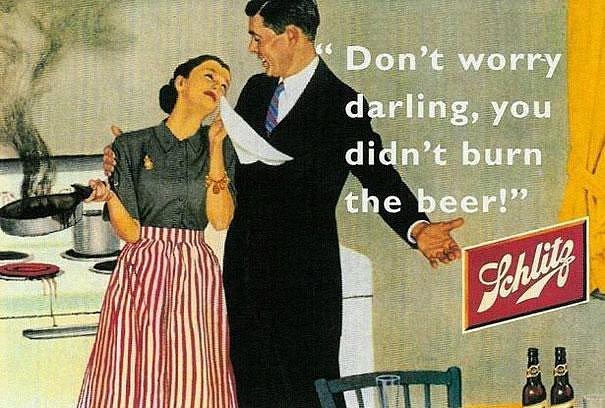 Neměj obavy, drahoušku, pivo jsi nespálila...