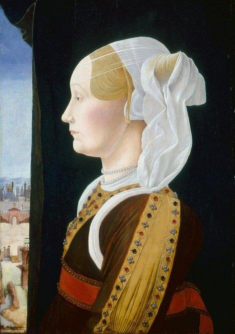 Renesanční ženy si přály vysoké čelo