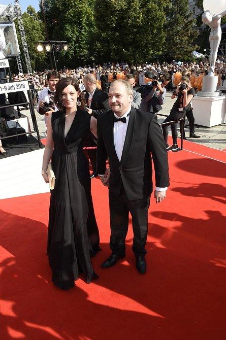 Marek Tacík s přítelkyní