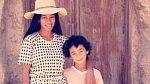 Solange se svým synem Danielem.