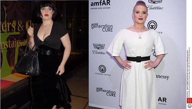 Kelly Osbourne před a po