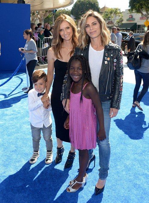 Jullian  Michaels s rodinou