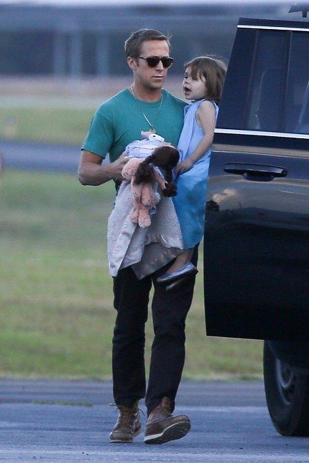 Ryan Gosling s dcerou Esmeraldou