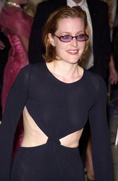 Gillian Anderson v začátcích své herecké kariéry.