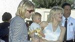 Kurt Cobain s Courtney Love a dcerou Frances Bean Cobain