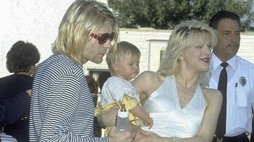 Kurt Cobain s Courtney Love a dcerou Frances Bean Cobain