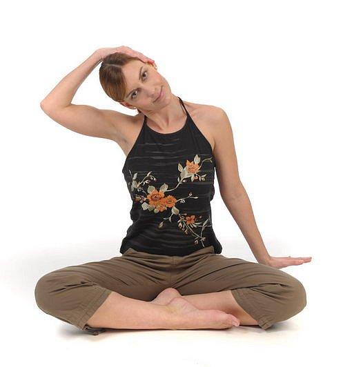 cvičení, protažení, pozice