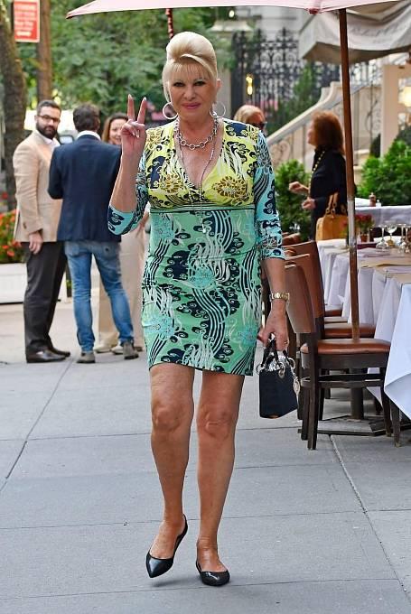 Ivana Trump je také tvrdá podnikatelka, která svůj majetek neustále rozšiřuje.