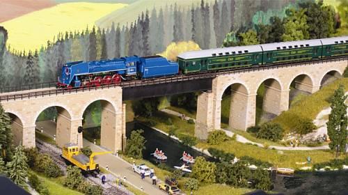 Dům vláčků potěší malé i velké milovníky vlaků a železnic