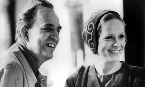 Ingmar Bergman a Liv Ullmannová