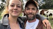 Luke Perry s dcerou Sophií