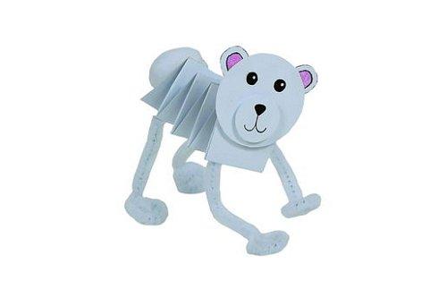 Jednoduchá veselá zvířátka z papíru