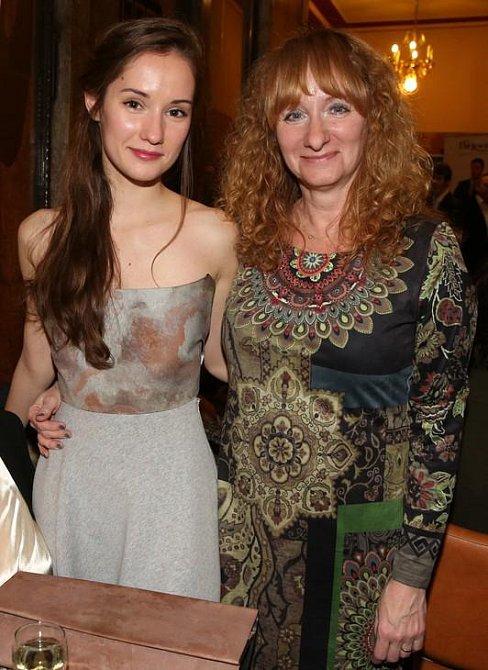 Eliška Křenková s maminkou