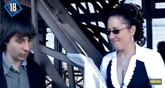 Erika Eiffel řekla své 'ano' v roce 2007.