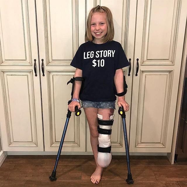 Bez nohy se dá žít, snad překoná i rakovinu.