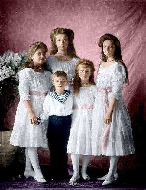 Děti cara Mikuláše II.