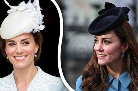 Tyto klobouky zdobily vévodkyni Kate v roce 2016