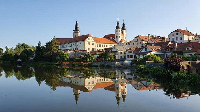 Město Telč se na čas proměnilo v kulisy pro natáčení.