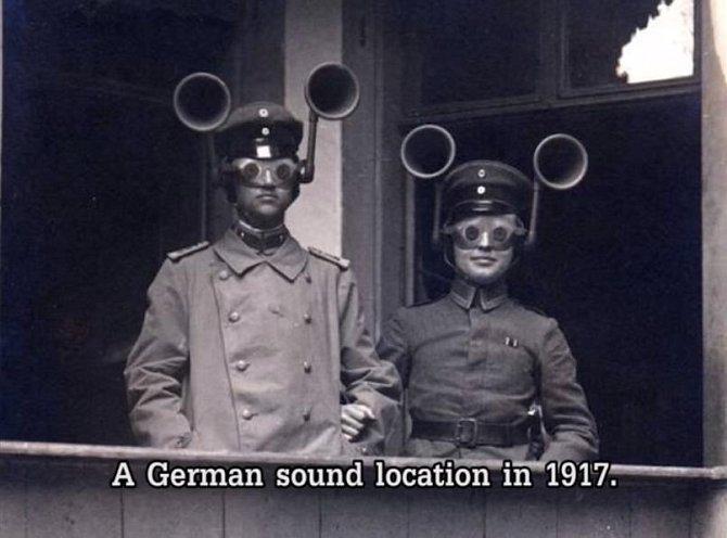 Německý armádní přístroj na odposlechy z roku 1917.