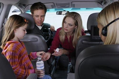 Nevolnost v autě