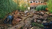 Vybudování zahrady trvalo dlouhých sedm let!