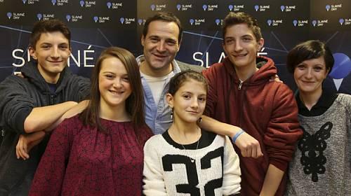 Pavel Zuna po letech ukázal celou rodinu