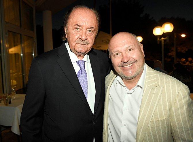 Michal David a František Janeček jsou dlouholetými přáteli.