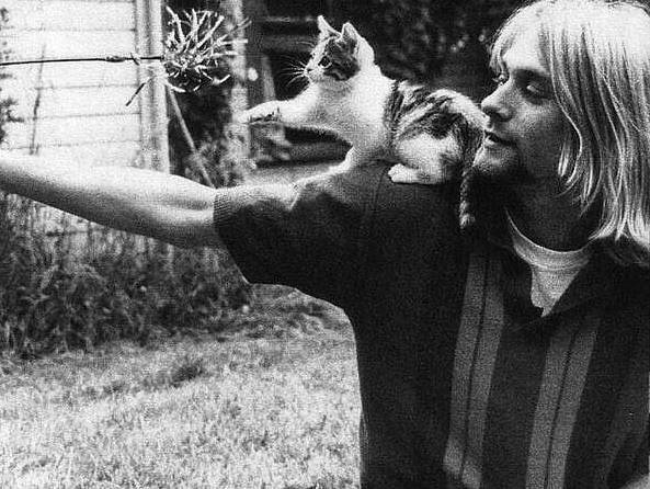 Kurt Cobain 1992