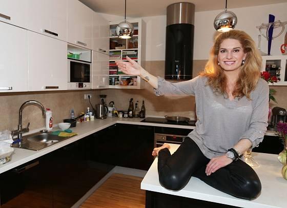 Olga Menzelová prý vaří moc ráda.