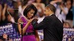 Michelle a Barack jsou tým!