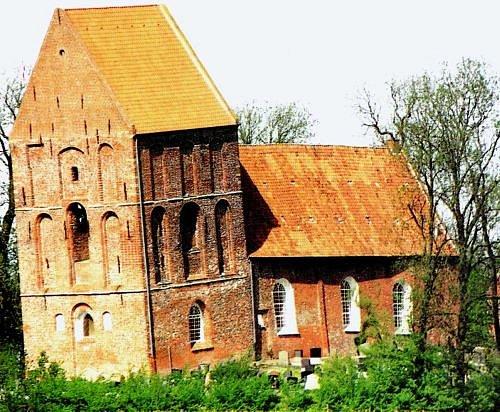 Šikmá věž Suurhusen