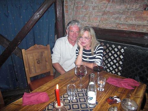 Jana Blochová-Macková s přítelem