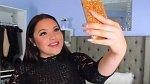 2. Selfie si pořizujte zásadně v lichotivém úhlu, nejlépe seshora.