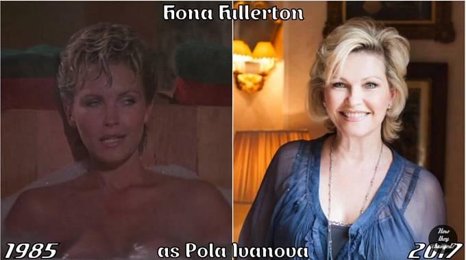 Herečka Fiona Fullerton coby Pola Ivanova
