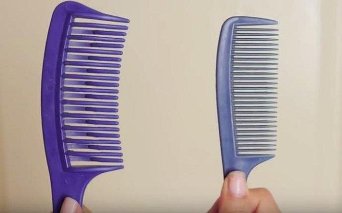 Vlasy rozčesávejte opatrně a vždy jen suché! Začněte hřeben s většími dál od sebe posazenými hroty a až po té přejděte k hustějšímu hřebenu.