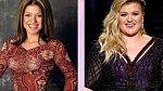 Kelly Clarkson v začátcích své pěvecké kariéry a nyní, když se z ní stala dvojnásobná máma.