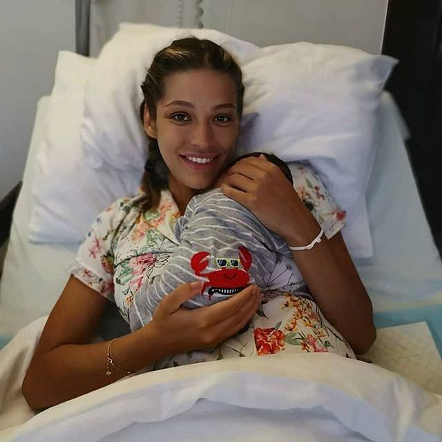 Jasmína se synem Sanelem