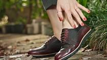Chraňte své boty před deštěm.