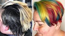 Letní vlasový hit: Letí nepřirozenost, kterou ale každá kadeřnice nezvládne