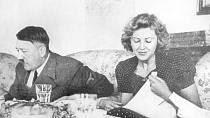 Eva Braunová a Adolf Hitlre