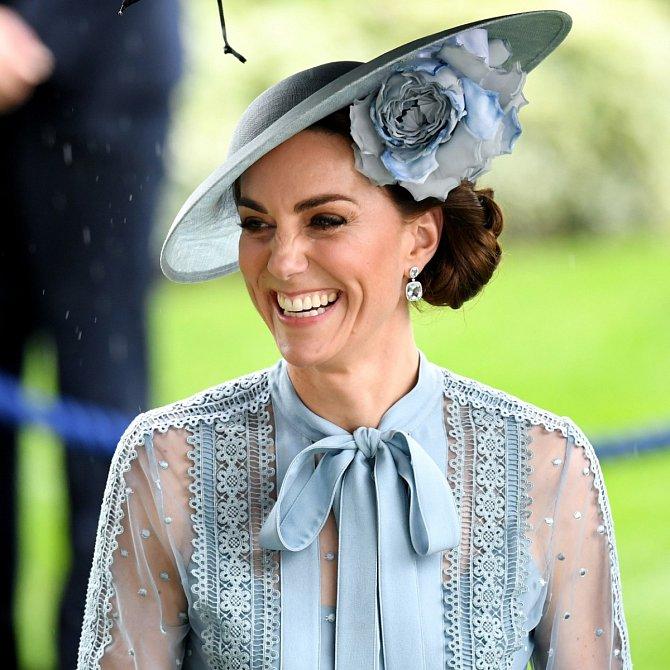 I přes nabitý program neztrácí Kate svůj pověstný úsměv.