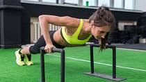 Cviků na posílení paží je nepřeberné množství. Volte úměrně své fyzičce a držte se správné techniky. Zapojujte celé tělo, aby bylo cvičení maximálně efektivní a bez bolesti.