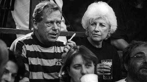 Václav Havel a Olga Havlová