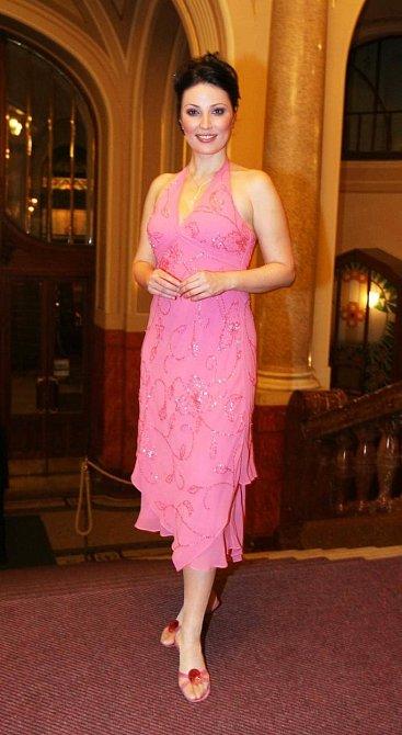 Ivana Christová po svém vítězství korunky Miss ještě problémy s váhou neměla.