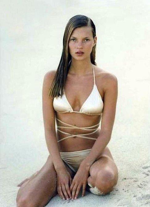Kate Moss v kampani z roku 1994