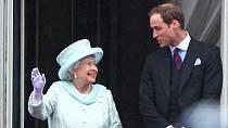 Královna Alžběta II. a princ William