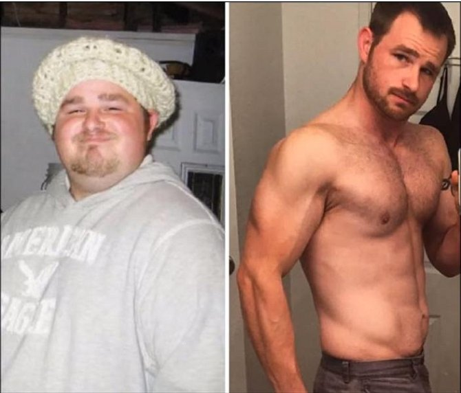 Úžasné proměny: Před a po zhubnutí