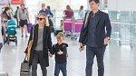 Christina Ricci s manželem a synem